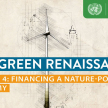 The Green Renaissance PODCAST: Episode 4 Financing a Nature Positive Economy